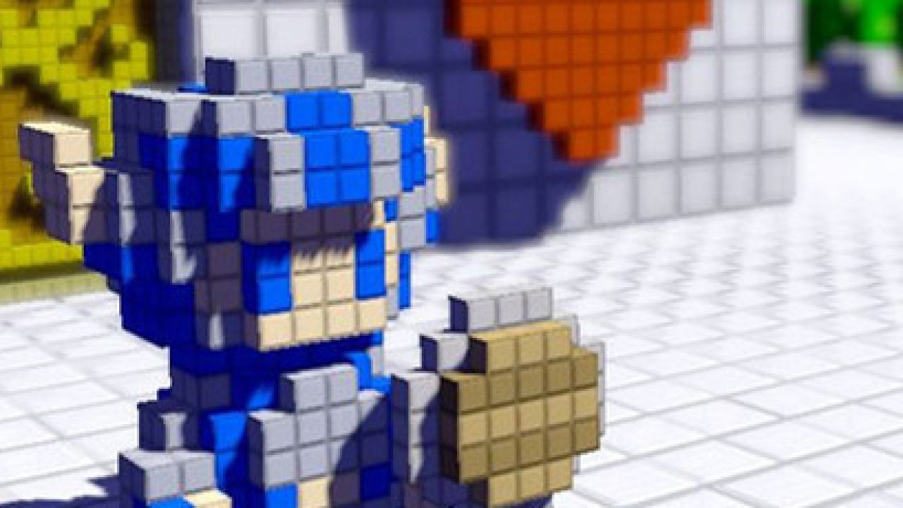 3D Dot Games: la nuova patch omaggia il Sackboy e altro ancora