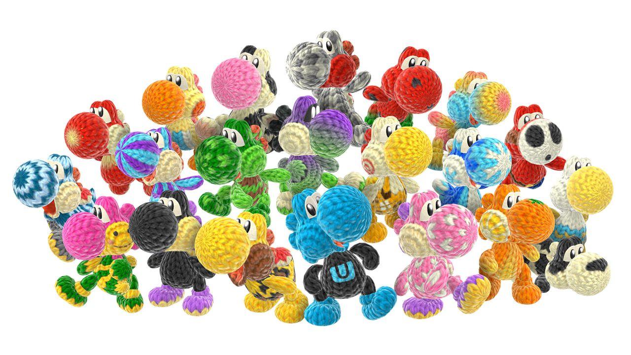 45 trasformazioni per Yoshi in Yoshi's Wolly World, vediamole tutte