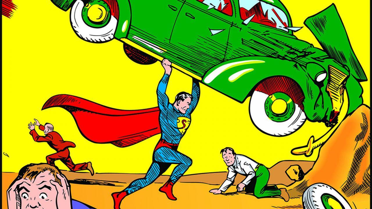82 anni fa Superman arrivava sulla Terra con Action Comics 1!