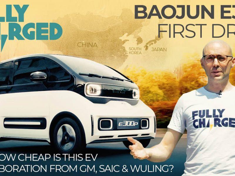 A bordo della nuova Baojun E300, l'elettrica ultra economica creata da GM e Xiaomi