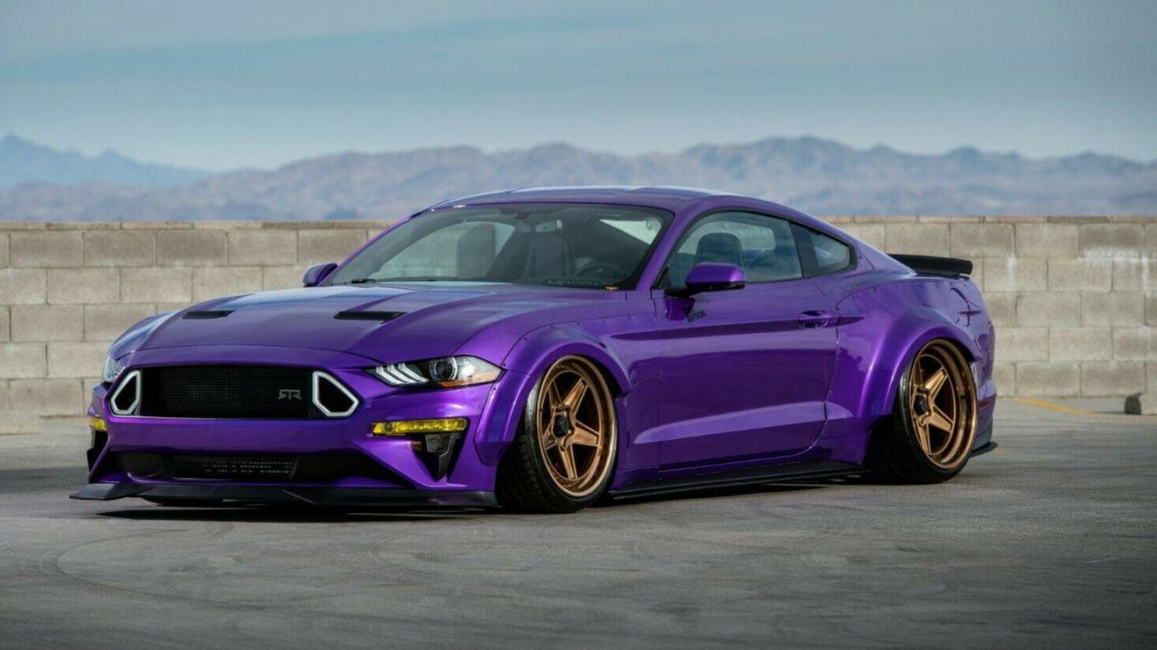 A questa Mustang RTR elaborata in vendita su eBay manca qualche cilindro