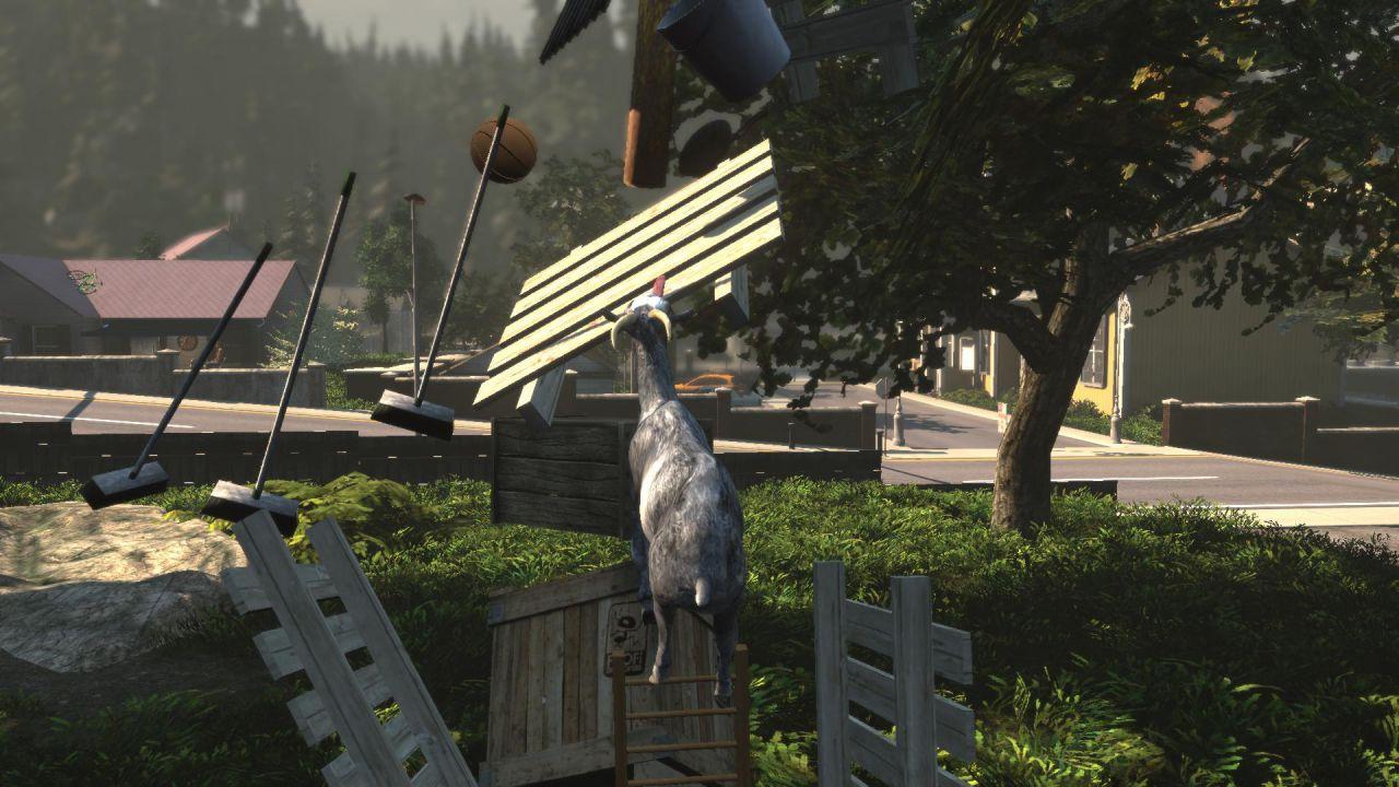 A sorpresa, il folle Goat Simulator è ora disponibile su Xbox One