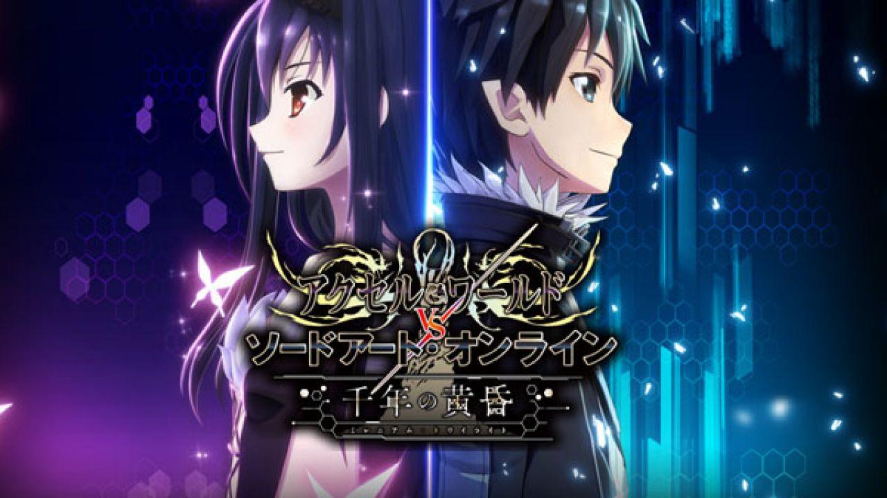 Accel World vs Sword Art Online: Millennium Twilight annunciato per PS4 e Vita