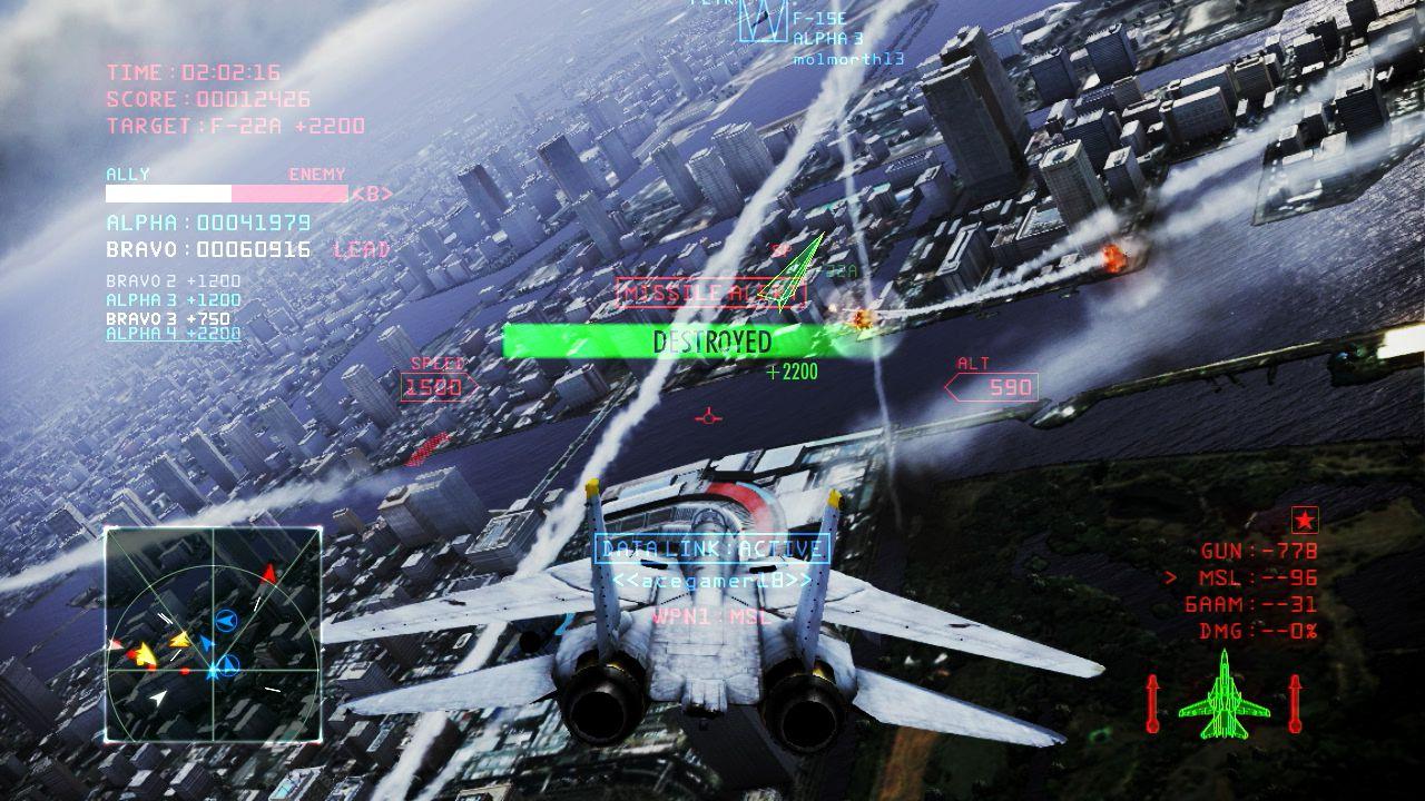 Ace Combat: Infinity annunciato per PS3