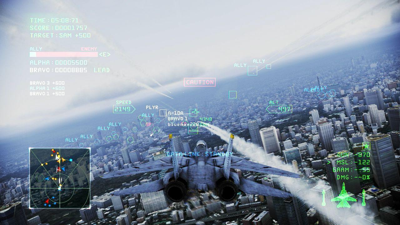 Ace Combat: Infinity - dettagli sul modello Free to Play