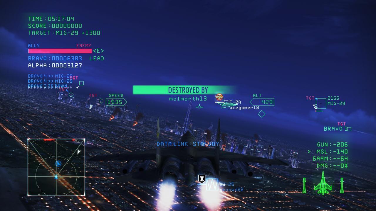 Ace Combat Infinity: nuovo aggiornamento disponibile