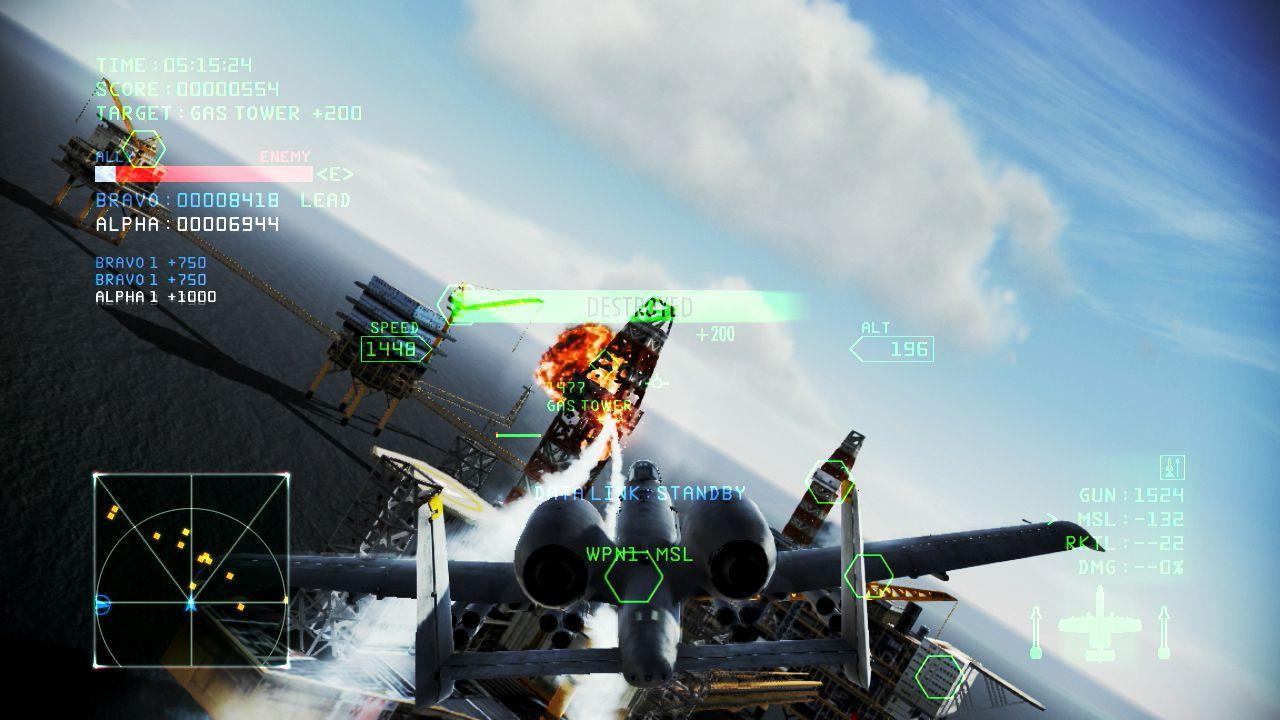 Ace Combat Infinity: online il primo set di screenshot