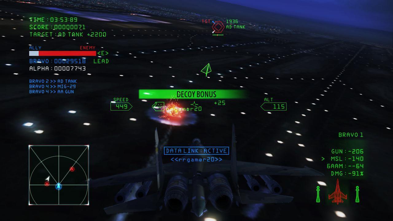 Ace Combat Infinity supera il milione di download