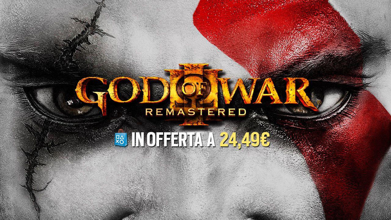 Acquista God of War III Remastered con il 30% di sconto: promozione terminata