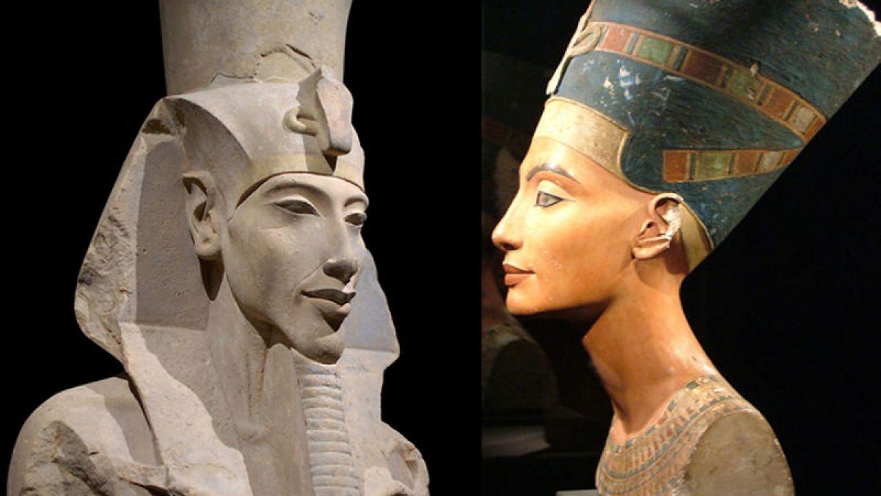 Akhetaton: la città eretta dal marito di Nefertiti, Akhenaton l' 'Eretico'
