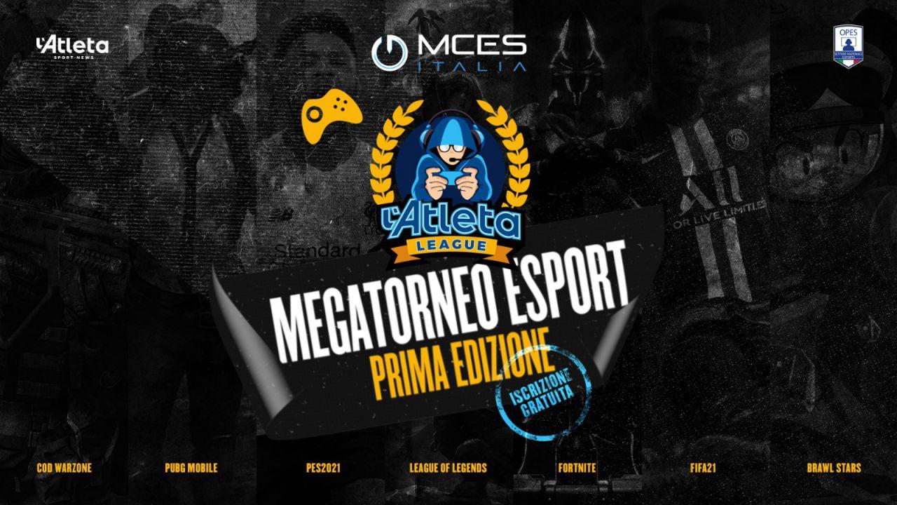 Al via l'Atleta League: 15.000 player per il mega-torneo online organizzato da MCES Italia