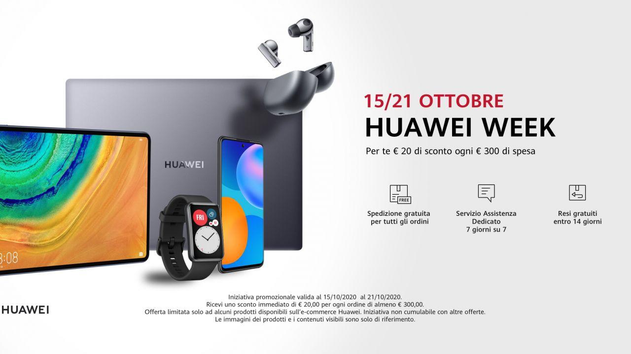 Al via la Huawei Week Huawei Watch GT 2e a 99 Euro