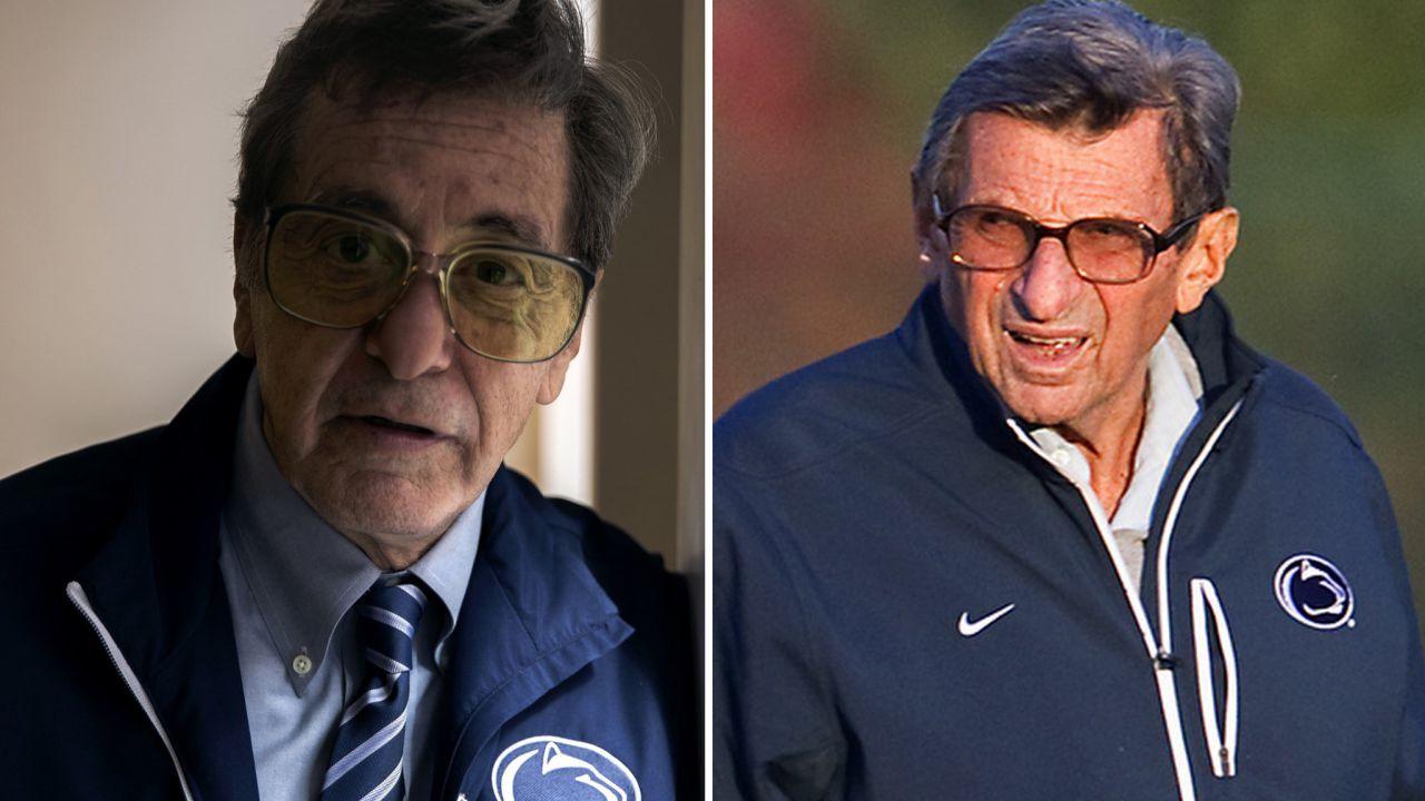 Al Pacino è Joe Paterno nella prima immagine del film TV di Barry Levinson