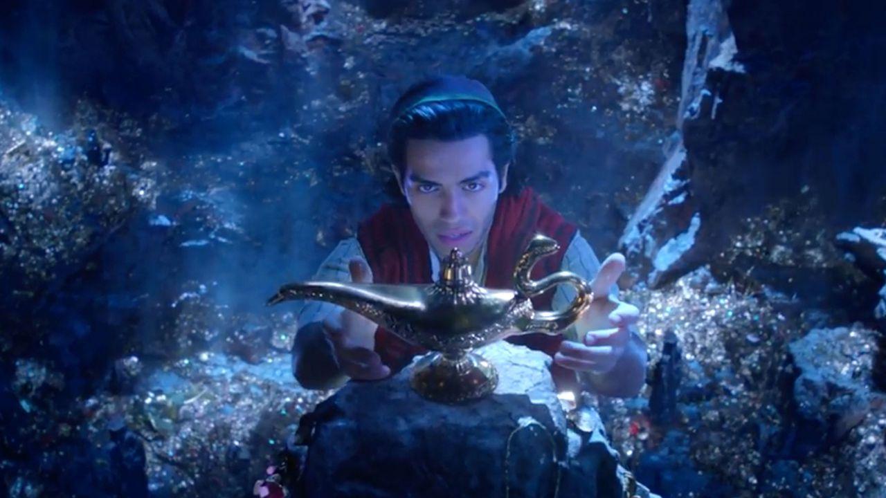 Aladdin: prime immagini di Will Smith nei panni del Genio!