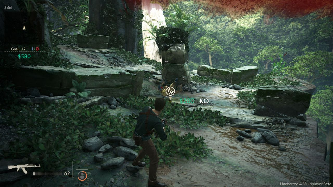 Alcuni problemi per la beta multiplayer di Uncharted 4
