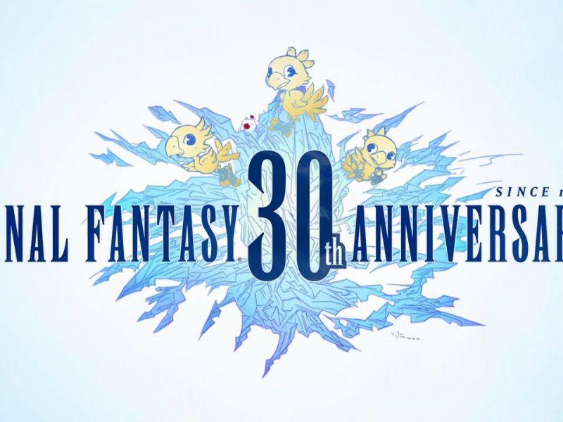 Alcuni scatti dalla mostra dedicata al 30° anniversario di Final Fantasy