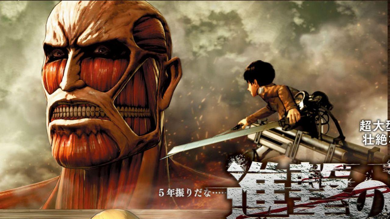 Alcuni scatti rivelano nuovi personaggi giocabili in Attack on Titan