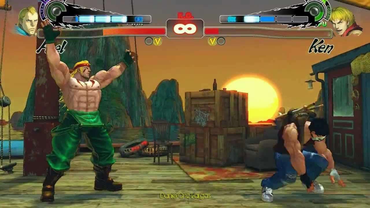 Alex sarà uno dei lottatori di Street Fighter V?