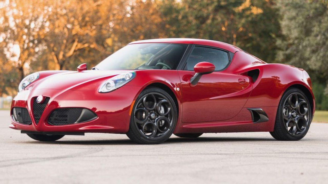 Alfa Romeo 4C: esemplare all'asta per un ottimo prezzo