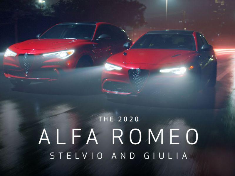Alfa Romeo Giulia e Stelvio protagoniste del nuovo spot, 'Control'