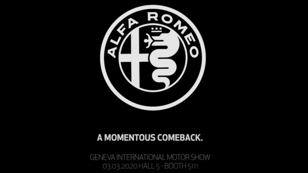 Alfa Romeo porterà una sorpresa al Salone di Ginevra: l'annuncio