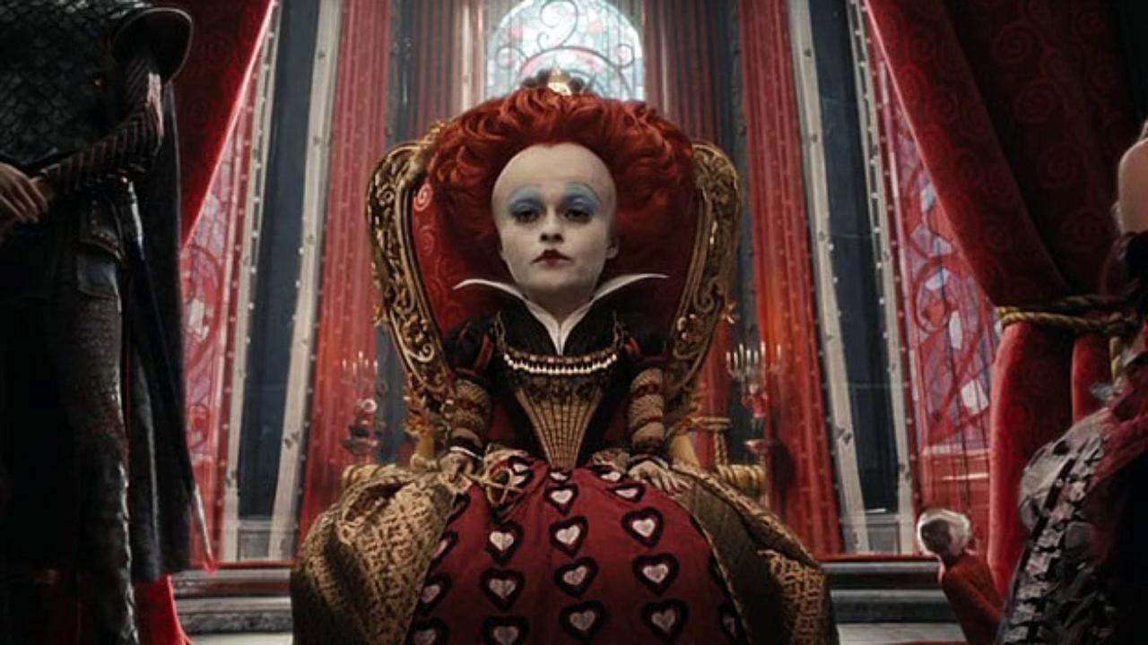 Alice attraverso lo specchio una nuova foto del sequel di - Alice e lo specchio ...