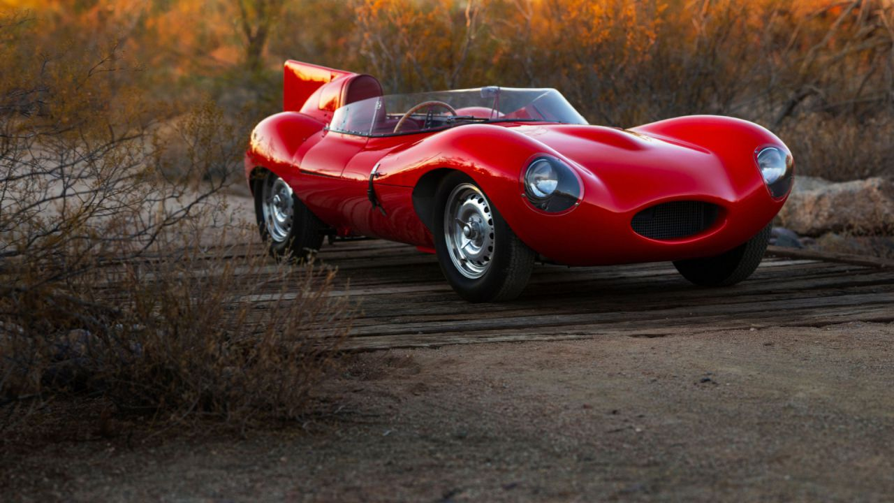 All'asta una Jaguar D-Type del '55: questa meraviglia vale 7,5 milioni di dollari