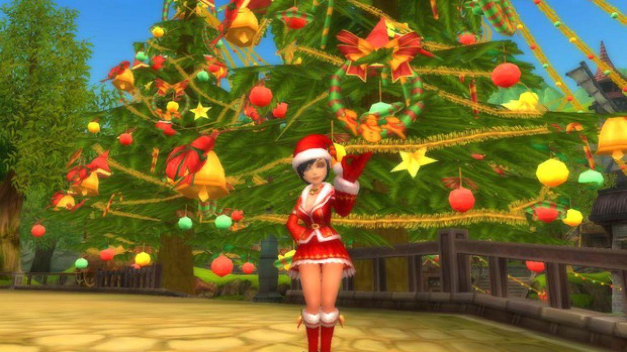 All'interno dell'MMO Florensia si respira l'atmosfera natalizia