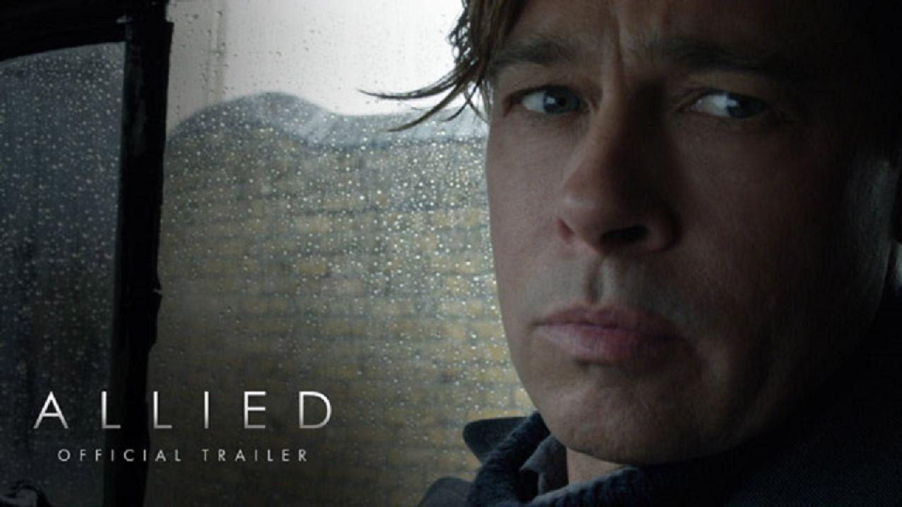 Allied: Un'Ombra Nascosta, online l'atteso trailer del film con Pitt e Cotillard