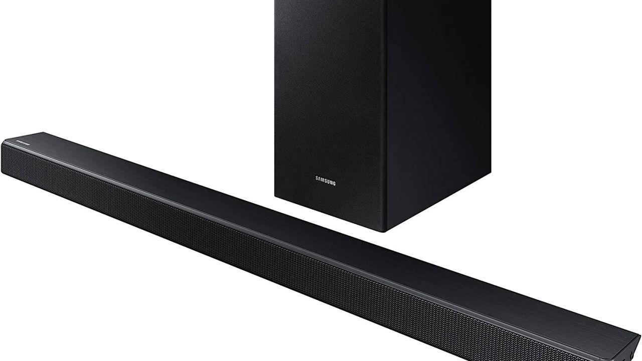 Amazon: 46% di sconto su una soundbar wireless Samsung