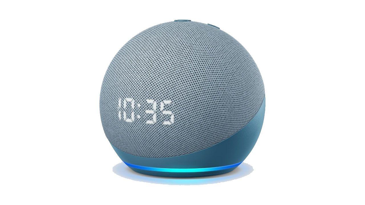 Amazon Echo ed Echo Dot di 4gen ufficiali: design sferico e orologio