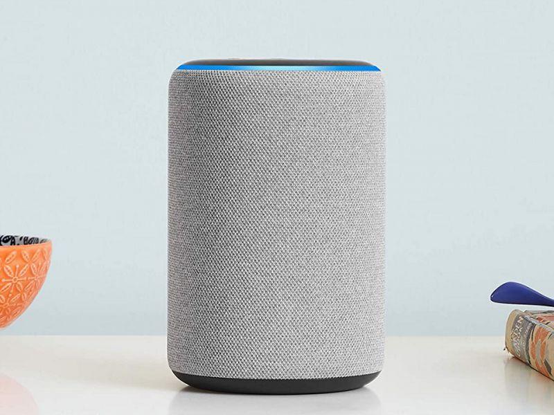 Amazon Echo di terza generazione scontato del 40% in Italia