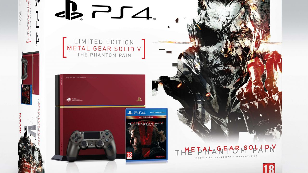 Amazon France svela il prezzo della PlayStation 4 Metal Gear Solid 5 The Phantom Pain Edition?
