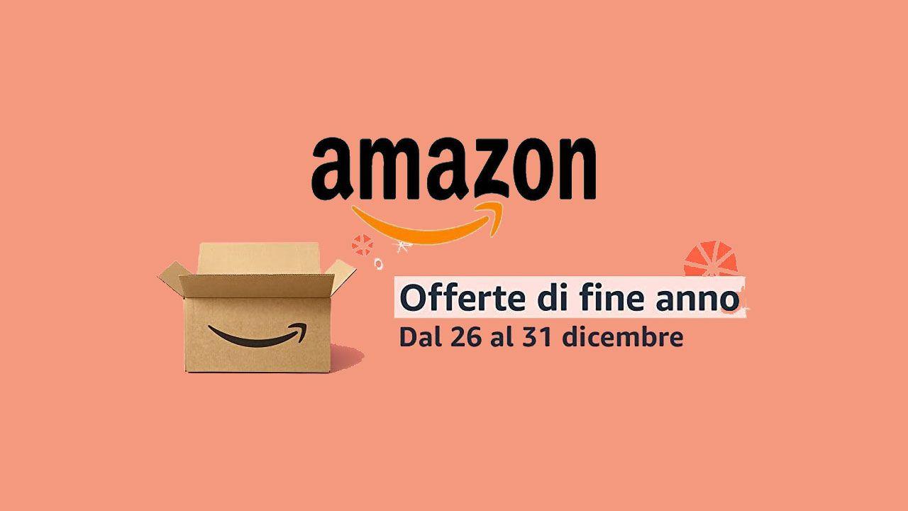 Amazon lancia le offerte di fine anno: sconti su TV, smartwatch e altro