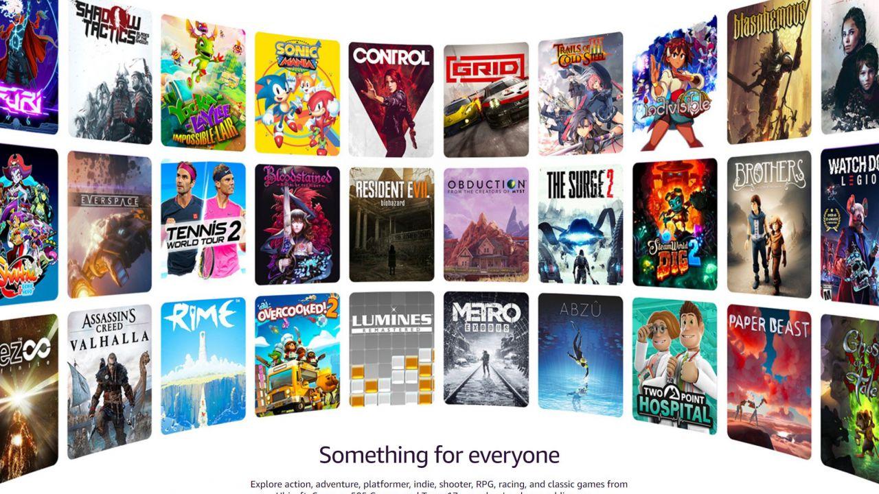 Amazon Luna: tutti i 50 giochi dell'early access, c'è anche Control