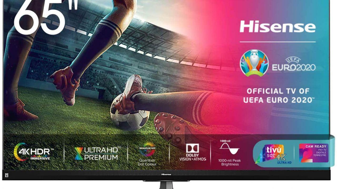 Amazon, sconti interessanti per due TV Hisense 4K HDR del 2020