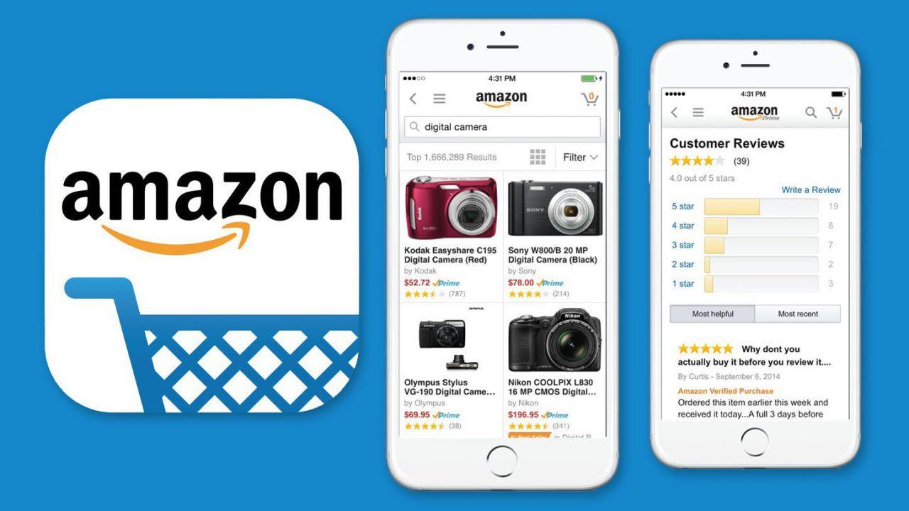 695987bf30 Amazon: buono sconto 10 euro effettuando il login all'app per iPhone e  Android