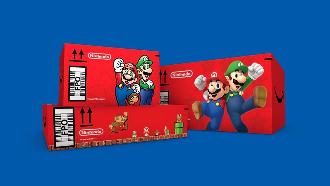 Amazon x Nintendo: in arrivo i pacchi speciali a tema Super Mario!