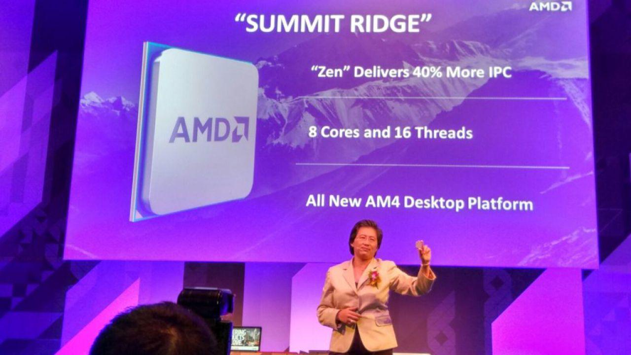 Amd: a fine anno l'architettura Zen per CPU x86