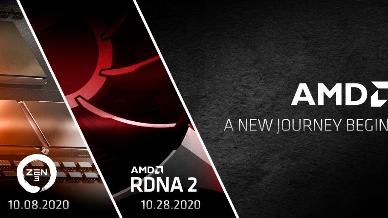 AMD va all'attacco, annunciata la presentazione delle schede video RDNA2 e delle CPU Zen 3