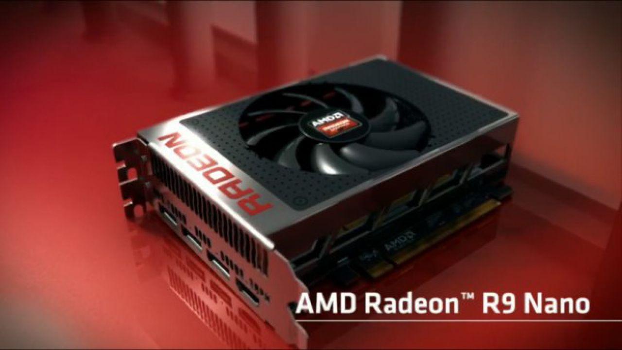 AMD annuncia il lancio della scheda Radeon R9 Nano