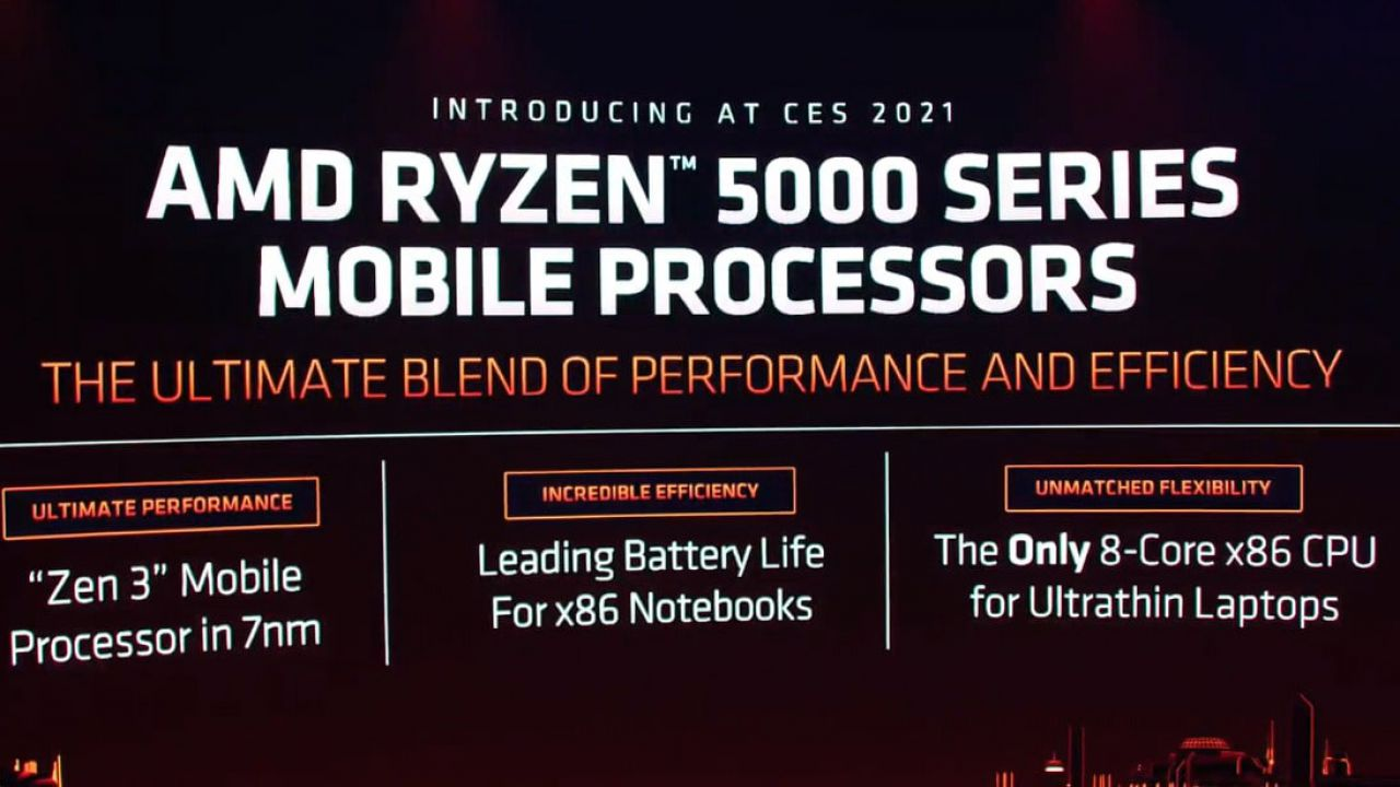 AMD presenta la serie di CPU Ryzen 5000 Series Mobile per laptop da gaming