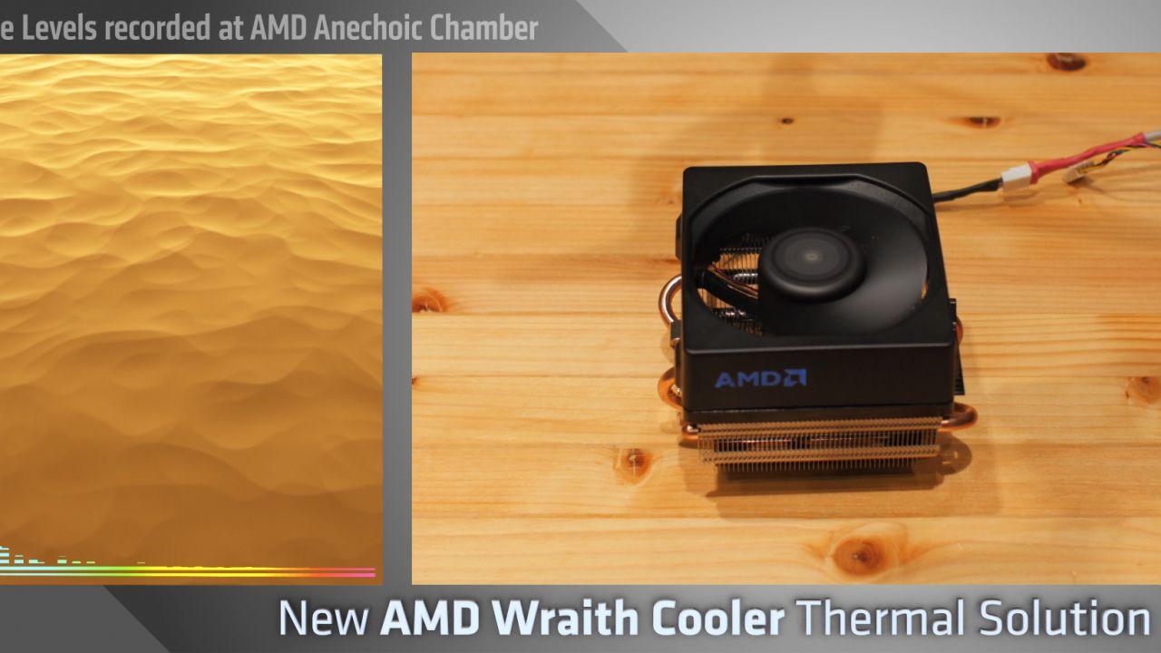 AMD rivela il suo nuovo dissipatore stock: Wraith è pronto