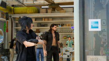 American Express è uno dei marchi presenti in Final Fantasy 15