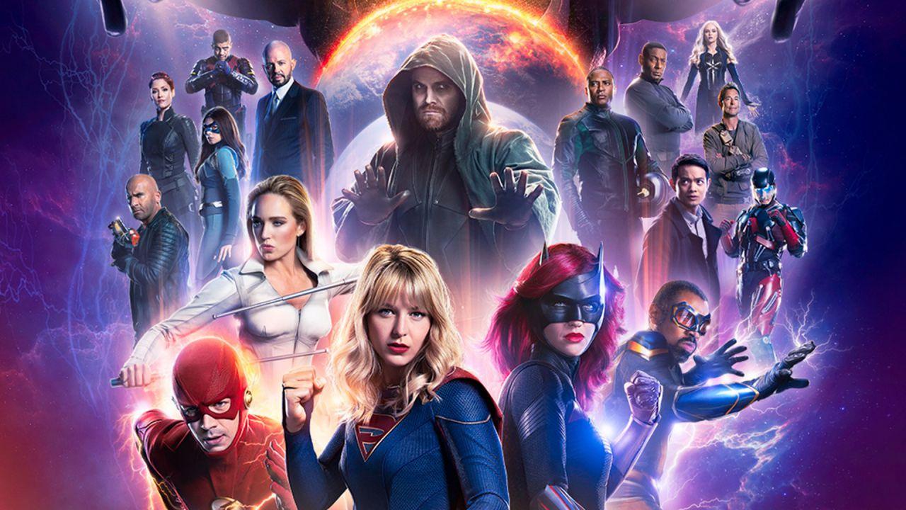 Ammirate la Justice League dell'Arrowverse in questo epico fan poster