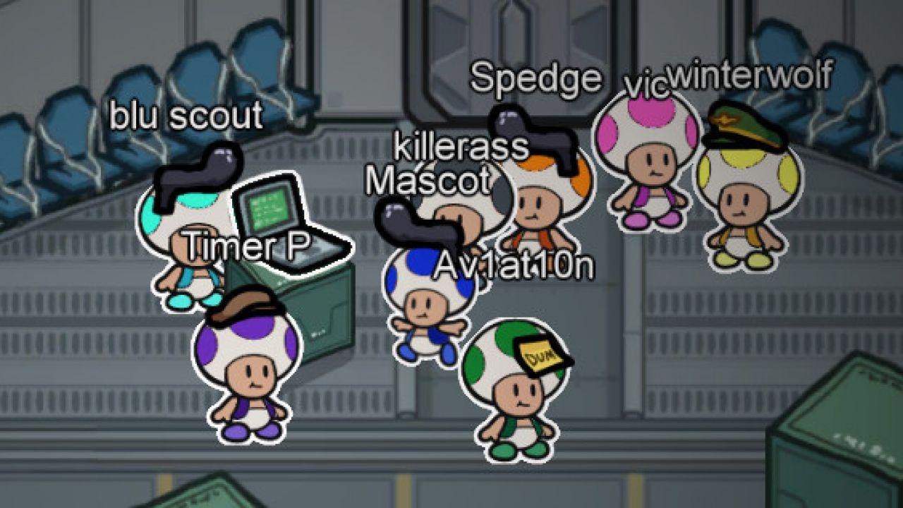 Among Us X Paper Mario: Toad spunta nel gioco grazie a una mod!