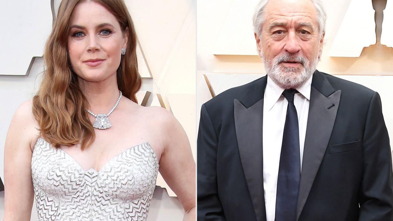 Amy Adams rivela: 'Sono innamorata di Robert De Niro, lo sono da anni'