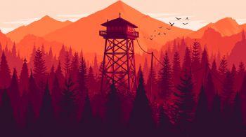 Anche Firewatch era presente alla PSE 2015: Gli sviluppatori parlano del gioco