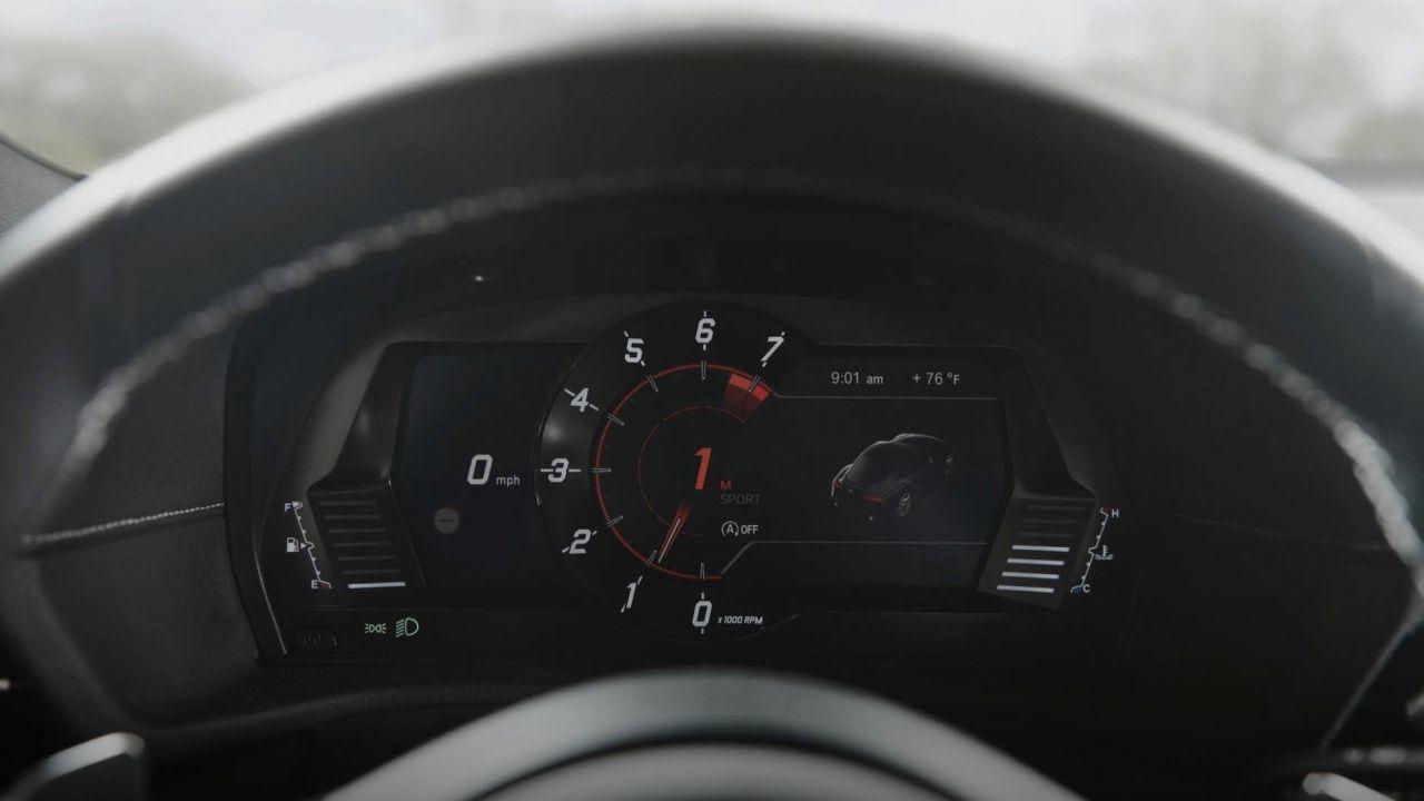Anche il quadro strumenti della nuova Toyota Supra è disegnato da BMW