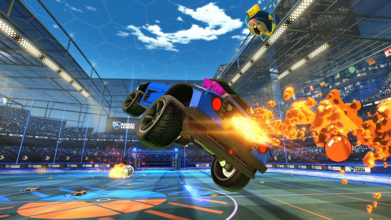 Anche Sunset Overdrive arricchirà la versione Xbox One di Rocket League